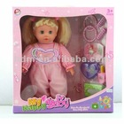 "16"" B/O fashion baby doll funny vinyl real baby dolls reborn dolls with 4 sound real baby dolls"