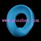 Plain blue potty seat for baby toilet training