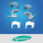 Cable Clip , nail Cable Clip ,plastic cable clip