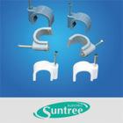 Cable Clip , nail Cable Clip ,plastic cable clip