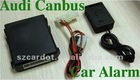 The latest Canbus Upgrade car alarm with lift window and falling down function,working with original remotes,shock sensor