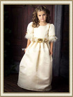Beautiful Pleated Half Sleeves Satin Cheap Flower Girl Dress Feathers With Flower Sash