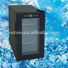 22L/8 bottles wine cooler with shelves