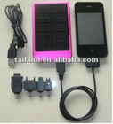 mobile solar power 2600mAh DC5.5V charger