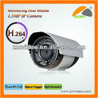 3 Megapixel Hight Definition IR CUT Wireless WiFi Waterproof Outdoor Zoom IP Camera