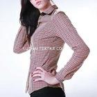 100% cotton non-iron ladies blouse