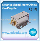 Electric Bolt Lock for Small Cabinet&Electric Cabinet Lock&Electric Shutter Lock
