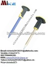 Hexagonal Cold Chisel with Rubber-holder
