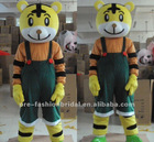 New Arrival Fashion Halloween Celebration Tiger Mascot Costume