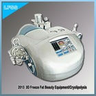 Portable Cryolipolysis + Ultrasonic + RF Lipolysis + Negative Pressure RF Liposuction Laser Weight Loss Machine