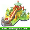 2012 Hot commercial inflatable castle,inflatable house