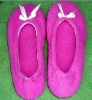 super-soft velour sidekicks ballet flat shoes