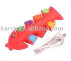 colorful fish 7 port usb hub