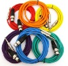 """XLR Female To 1/4"""" TRS Color Cables"""