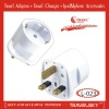 2012 HOT SALE UK Plug Adapter with EUROPE Socket (L-023)
