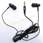 Black 3.5 mm Stereo Jack In-Ear Earphone Headphone with 1.2 M Cable for MP3/MP4/iPod/iPhone (CK-700)
