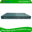 L2 Managed Gigabit Ethernet Switch with PoE Injector