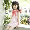 Baby Girls dresses ,princess pink light blue summer short sleeves dress