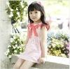 Baby Girls dresses ,princess pink light blue summer short sleeves dress
