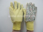 Yellow mini dots on palm garden and lawn glove-DGS403