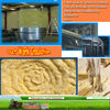 50mm pipe insulation material/glass wool