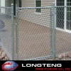 Euro style galvanized chain link fence and gates