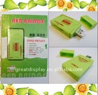 MS/MS PRO/MS Duo/MS PRO Duo SD/MMC/RS MMC/mini SD/T-Flash card Reader USB2.0,green color