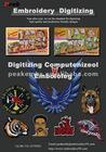 Beautiful Embroidery Digitizing Designs Custom Mascot Eagle Logo Design
