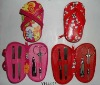2012 girls manicure pedicure tools set with nail care set in leather case
