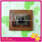 Wholesale accessories embrossed leather tag