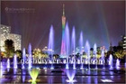 Project in Malaysia, outdoor musical fountain