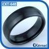 2012 antique men's black tungsten ring