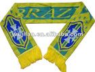 Brazil fan scarf