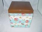 foldable corrugated paper box