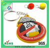Promotional Fashion New Arriver Custom 3D Soft Rubber Keychain