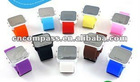 mix colors Mirror LED Digital Date Sport Watch factory derect sal