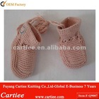 100% Cotton Knitted Infant baby shoes
