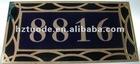 Unique and attractive Acrylic door nameplate