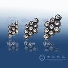 (TS-304) Rhinestone button, diamond-shape