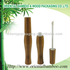 NEW bamboo cosmetic bottle empty lip gloss tube container