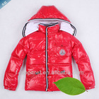 fashion designer kids winter coat hot selling