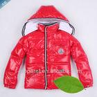 fashion designer kids winter coat hot selling
