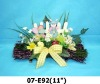 artificial easter flowers fern wreaths