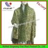 Long cashmere rabbit fur shawl