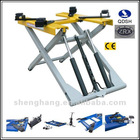 Movable scissor hydraulic cheap and portable car lifts 3000KGS 1000mm