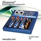 F4 Mini audio mixer