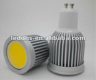 7W COB LED GU10 MR16 E27 spot light high power led lamp