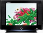 21inch slim color crt tv