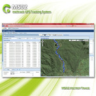 GPS tracker software with mobile tracking MS02/History report