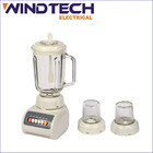 Blender with glass jar and dry mill
